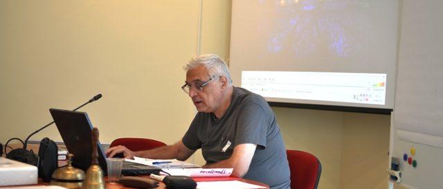 Встъпително слово произнася проф. д-р Ангел Марчев Sr. – откриване на Конференцията и начало на деловата работа
