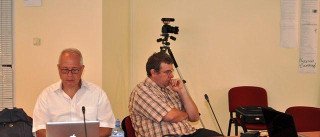 д-р Ангел Марчев следи внимателно за спазване на регламента на Конференцията